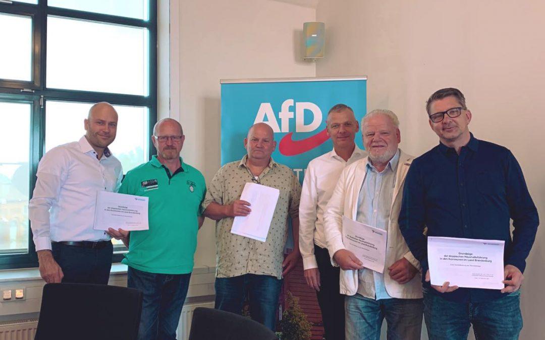 Bericht über die AfD-Fraktion Guben